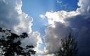 nubes en pamplona