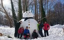 Muñeco de nieve gigante!