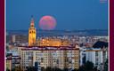 Luna a la altura de Sevilla