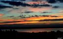 Puesta de sol, Embalse de Alange