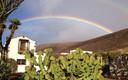 Doble arco iris en Guisguey