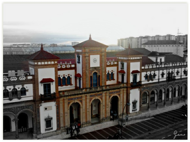 Club ferroviario jerezano fotos de la estaci n de ferrocarril de jerez - Estacion de tren puerto de santa maria ...