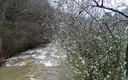 El 27 de Marzo caminando con lluvia y frio..