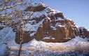 Nevada impresionante a 590 metros de altitud