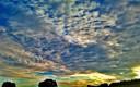 Amanecer nublado en Despeñaperros
